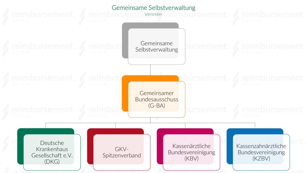 Gemeinsame Selbstverwaltung - Hierarchie / Vertreter