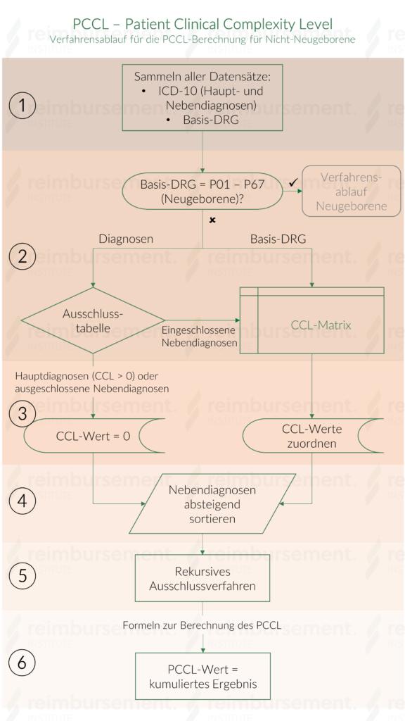 PCCL Verfahrensablauf für Nicht-Neugeborene